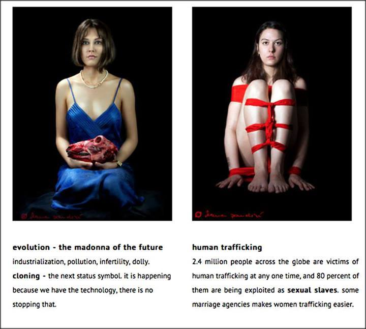evolution – the madonna of the future and human trafficking