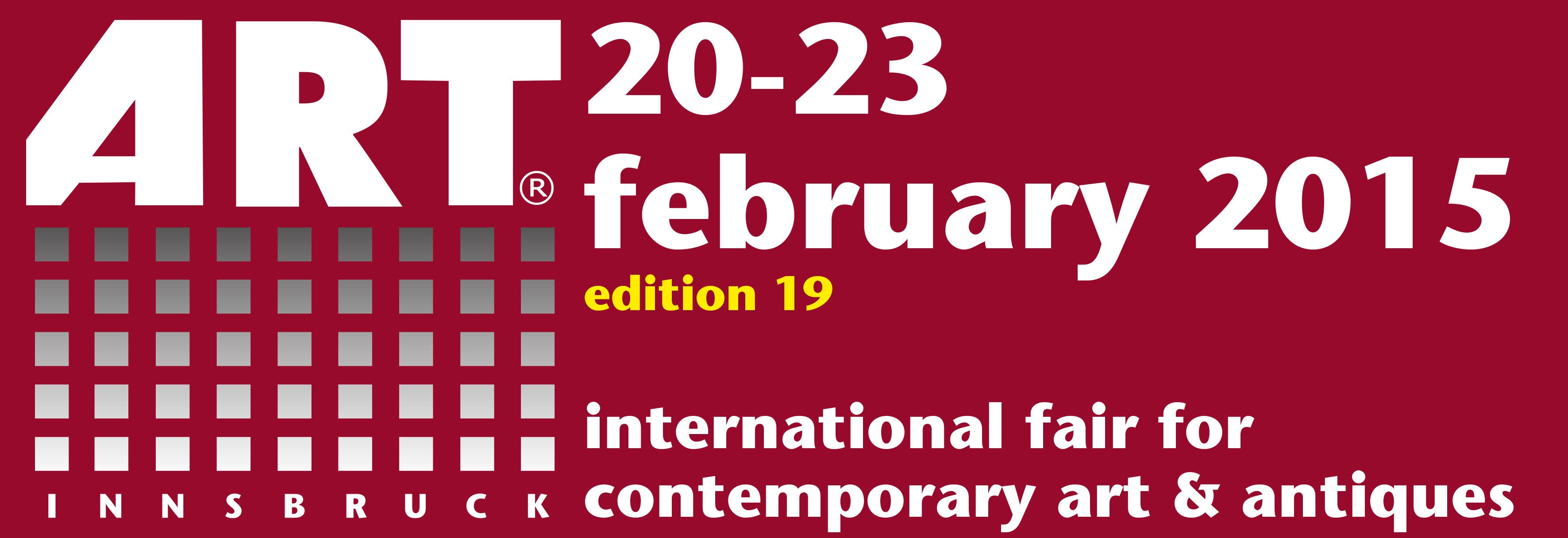 20th - 23rd February 2015 to the ART Fair Innsbruck/Austria