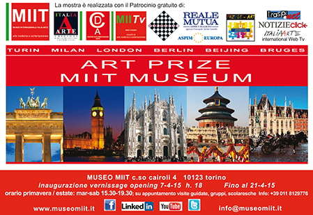 the Art Prize MIIT Museum exhibition from 7 to 21 Apr 2015, Torino/Italy