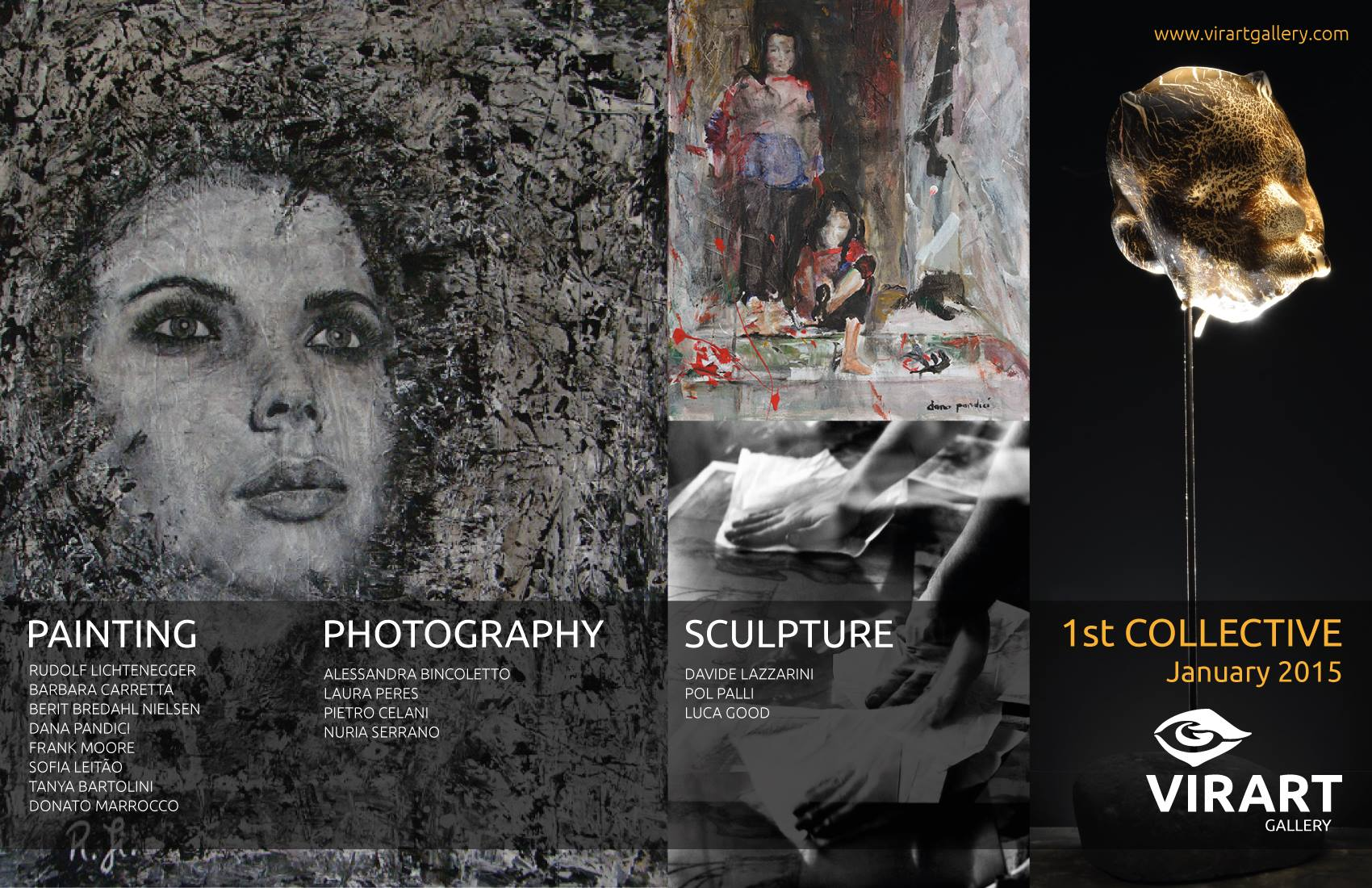 Dana Pandici have been selected to participate at the 1st collective exhibitions 2015 on VirArtGallery
